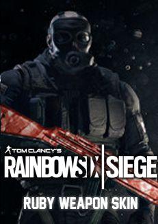 rainbow six siege ruby skin